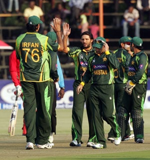 Ahmed Shehzad, Shahid Afridi mastermind Pakistan victory over Zimbabwe in first T20 International