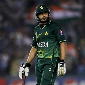 ICC World Twenty20: Injured Shahid Afridi may miss Pakistan's initial matches