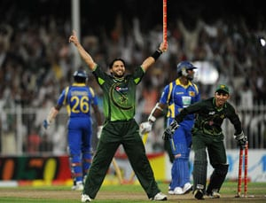 Pakistan vs Sri Lanka: All-round Afridi secures series win