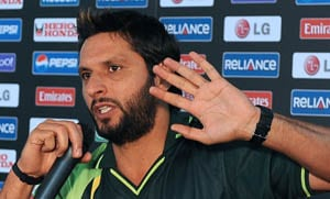 Afridi looking for more from top order against Kiwis