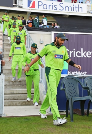 Afridi hints at including an extra spinner in Pakistan team
