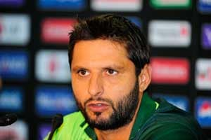 Afridi not happy with ICC ranking system