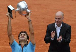 Agassi hails Fedex, Djoko and Rafa as 'best ever'