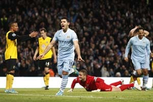 Manchester City go five clear, relief for Chelsea