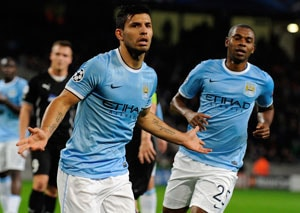 Manuel Pellegrini eager to keep Sergio Aguero purring