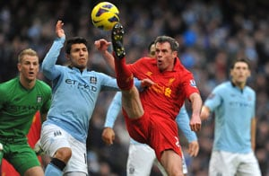 Manchester City held 2-2 by Liverpool to dent EPL title hopes