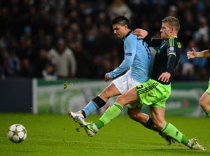 Manchester City draw Ajax to survive in Champions League