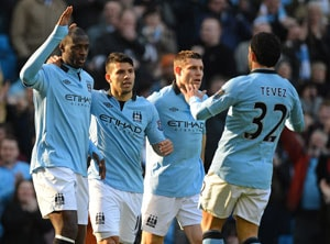 Manchester City swamp Leeds in Cup romp