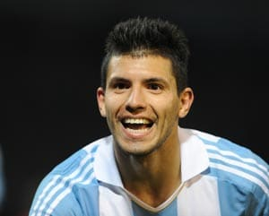 Sergio Aguero double as Argentina down Bosnia in friendly