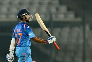 Asia Cup: Ajinkya Rahane excels as opener but eyes No. 4 slot in World Cup