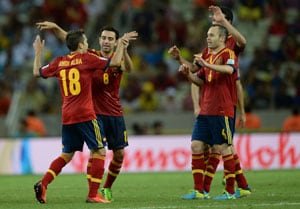 Spain book Italy date in Confederations Cup semis with 3-0 Nigeria win