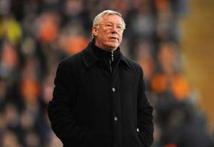 Ferguson upbeat on United's title chances