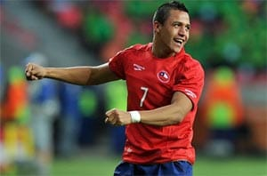 Barca after new striker, target Sanchez