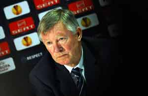 Ferguson 'gagged' over England as Manchester United lose