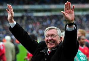 Sir Alex Ferguson wins Premier League Manager of The Year award