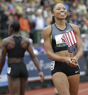 Allyson Felix makes statement with personal-best in 200m | Olympics News