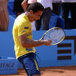 Almagro ends Baker's magical run to win Nice Open