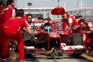 Chinese Grand Prix: Alonso trumps Massa in final practice