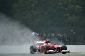 Alonso tops final practice session at Silverstone