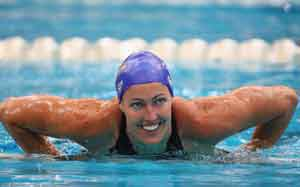 Therese Alshammar to skip 100 free due to pinched nerve
