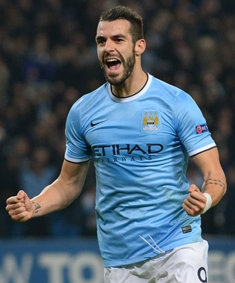 Valencia Buy Striker Alvaro Negredo From Manchester City