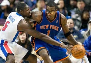 Knicks rout Pistons 103-80 after big 2nd quarter