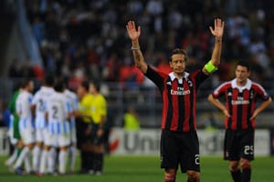 AC Milan slump at Malaga, pressure on embattled Massimiliano Allegri