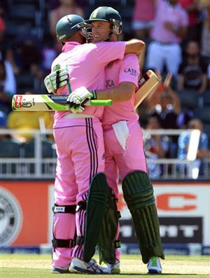 South Africa to 'Go Pink' in first ODI versus India
