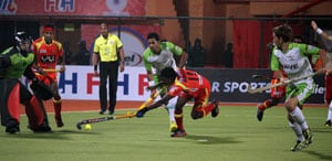 Hockey India League: Ranchi Rhinos beat Delhi Waveriders 1-0