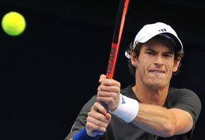Brit hopes on Murray as pommies bashed