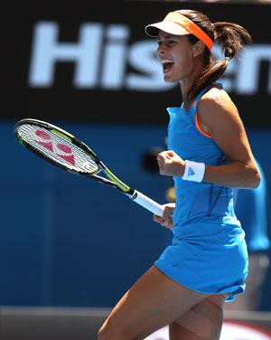 Australian Open: Giant-killer Ana Ivanovic thrives on new self-belief