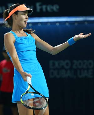 Ana Ivanovic beats Angelique Kerber in Dubai Open's opening round