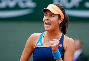 French Open: Ana  Ivanovic Beats Elina Svitolina to Reach 3rd Round