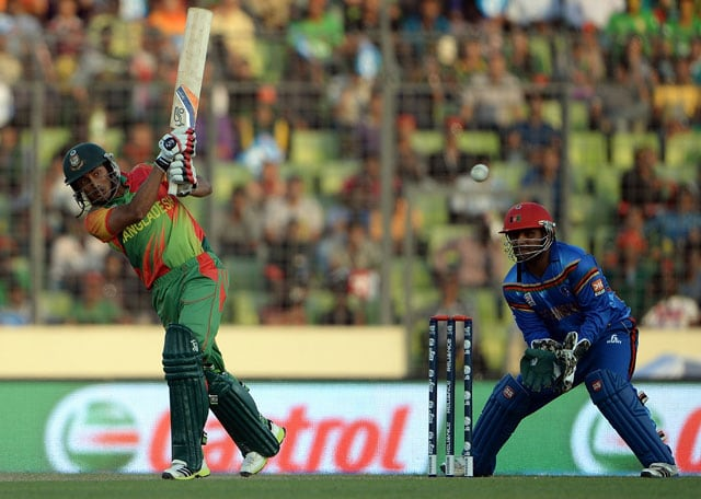 ICC World Twenty20 qualifying, highlights: Bangladesh beat Afghanistan by 9 wickets