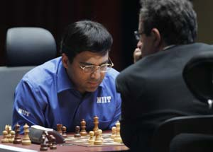 Tal Memorial chess tournament : Viswanathan Anand draws with Boris Gelfand in 4th round