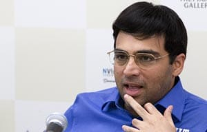 Viswanathan Anand opens account with a draw in Tal Memorial Chess