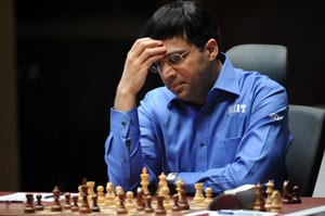 Viswanathan Anand held by Sokolov, slips to second spot