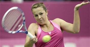 Anastasia Pavlyuchenkova survives early scare in Korea Open