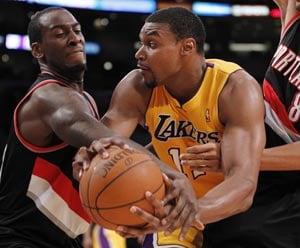 Lakers beat Trailblazers 103-96