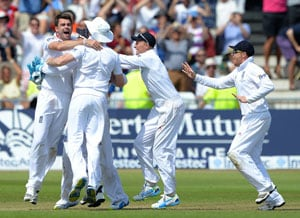 The Ashes: James Anderson stars as England beat Australia in a thrilling first Test