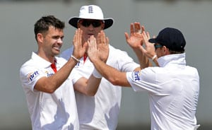 Won't take things for granted but first session crucial, says James Anderson