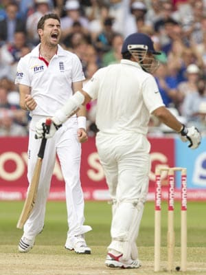 Sachin Tendulkar is not my bunny: Anderson