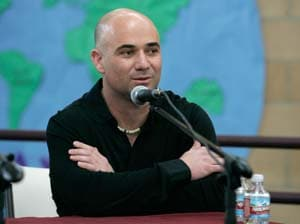 Agassi set for Hall of Fame induction