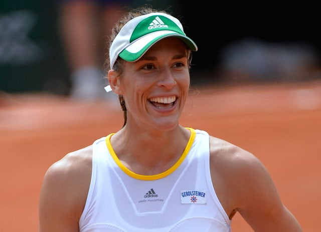French Open: Germany's Andrea Petkovic Advances to Quarters