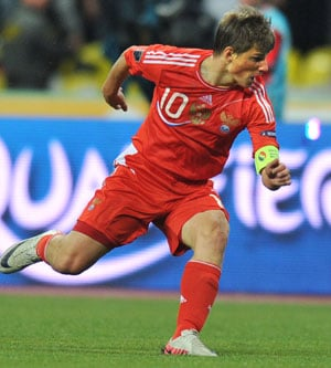 Andrei Arshavin returns to home club Zenit