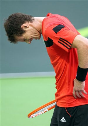 Andy Murray's new year starts with setback, Rafael Nadal through in Qatar