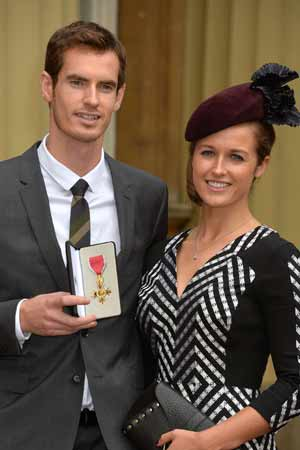 Royal honour for Wimbledon champion Andy Murray