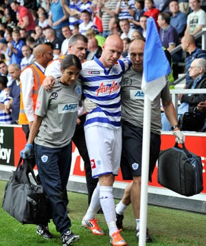 Injury blow for QPR striker Andy Johnson