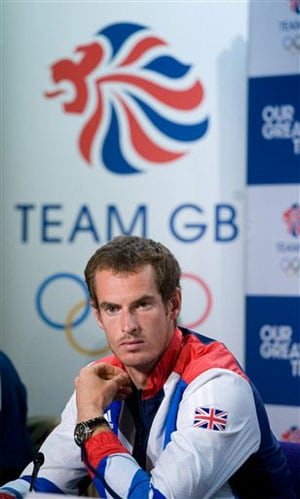 Andy Murray selected to play singles for Olympic team