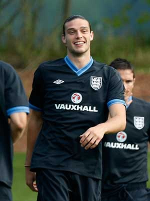 Andy Carroll may start against France in Euro 2012